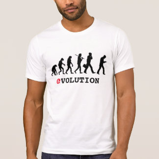 Funny Evolution Smartphone Addict T-Shirt