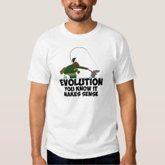 Funny evolution tee shirt