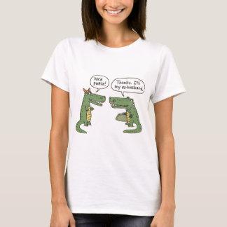 Funny Ex Husband Alligator Purse T-Shirt