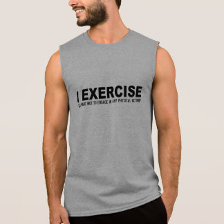 Funny Exercise shirts & jackets