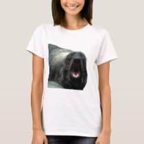 Funny expression Seal ladies shirt