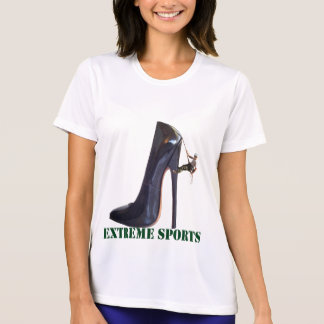 Funny Extreme Sports - Shoe Climbing T-Shirt
