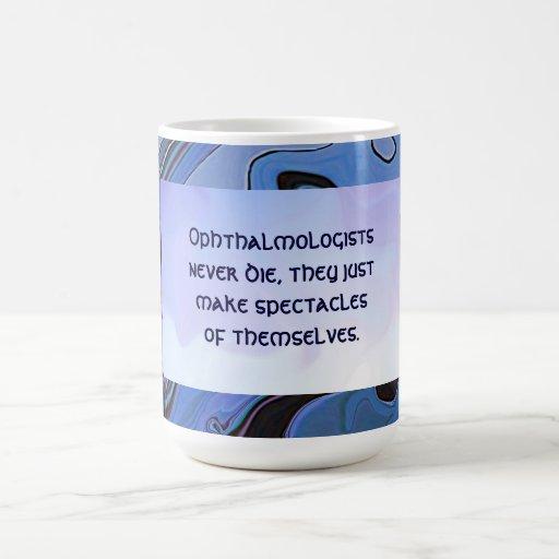 funny eye doctor joke mug