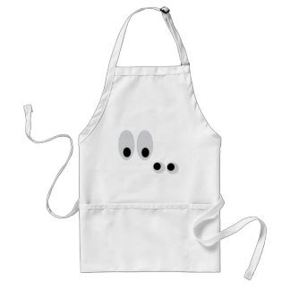 funny eyes aprons
