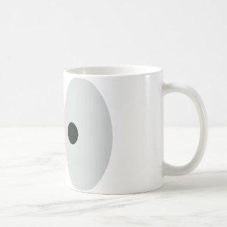 funny eyes classic white coffee mug