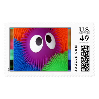 Funny Eyes Postage Stamps