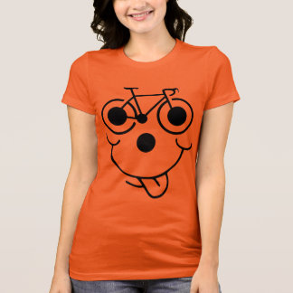 Funny Face Bicycle T-Shirt