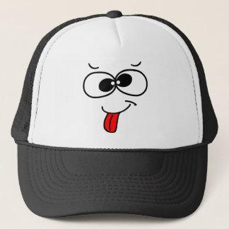 Funny Face - blah Trucker Hat