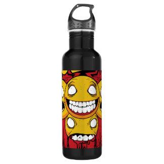 Funny face bottle