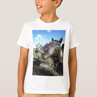 Funny Face brown horse T-Shirt