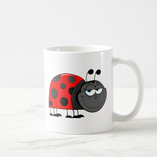 Funny Face Bug Mug