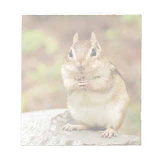 Funny Face Chipmunk Notepad