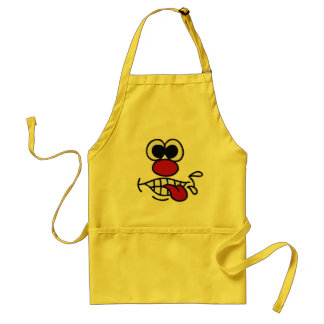 Funny Face custom apron
