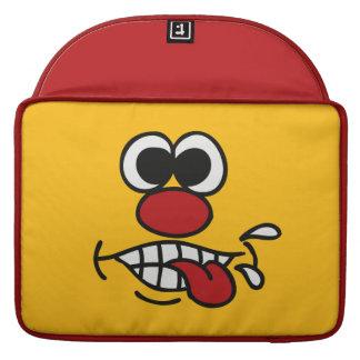 Funny Face custom MacBook sleeves