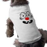 Funny Face Dog T Shirt
