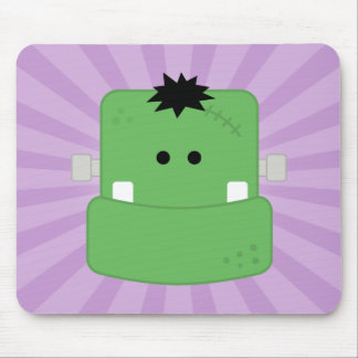 Funny Face Frankenstein Mousepads