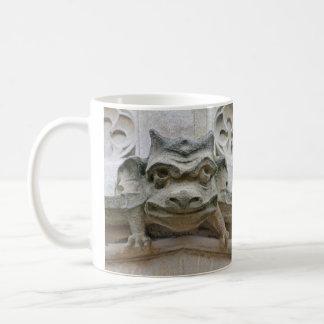 Funny face gargoyle mug
