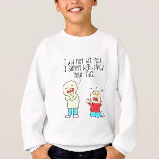 Funny Face High Five Sweatshirt