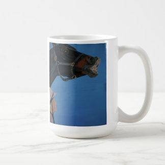 Funny Face Horse Coffee Mug
