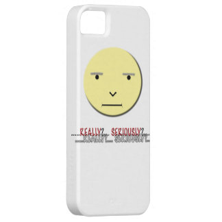 Funny Face Iphone Case - Really?