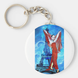 FUNNY FACE.jpg Basic Round Button Keychain