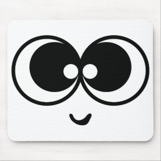 Funny Face Mouse Pad