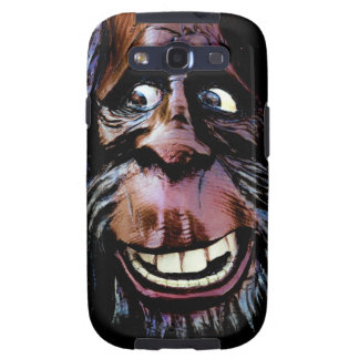 Funny Face on your Case! Bigfoot Samsung Android Galaxy S3 Cases