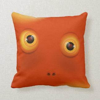 Cute Monster Pillow : Cute Monster Face Pillows - Cute Monster Face Throw Pillows Zazzle