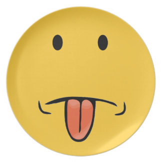 Funny Face Plate