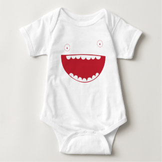 Funny Face Smiley Infant Creeper
