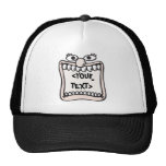 Funny Face, <YOUR TEXT> Trucker Hat