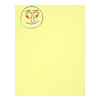 Funny Faces Letter Head Letterhead