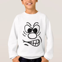 Funny faces sweatshirt