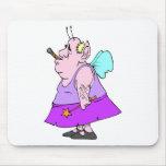 Funny Fairy Man Mousepad