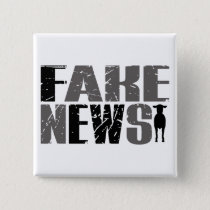 Funny Fake News Ewe Quote & Sheep Trump Truth Button