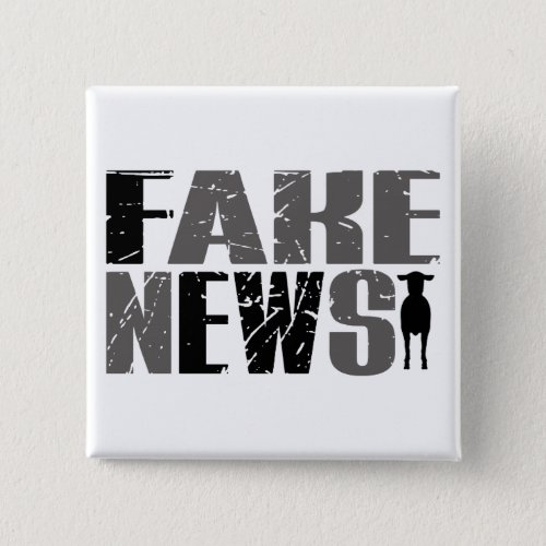 Funny Fake News Ewe Quote  Sheep Trump Truth Button