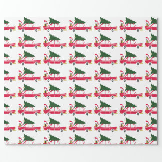 Christmas Tree Wrapping Paper
