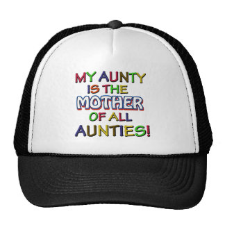 Funny family designs hats