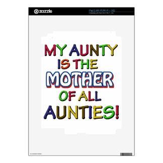 Funny family designs iPad 2 decals