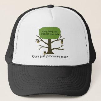 Funny Family Nut Tree Ball Cap