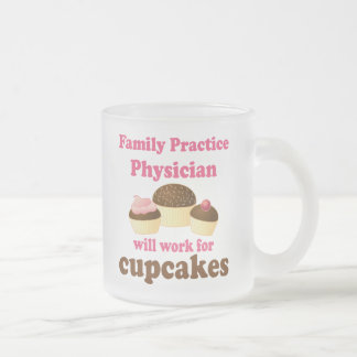 Funny Family Practice Physician Frosted Glass Coffee Mug