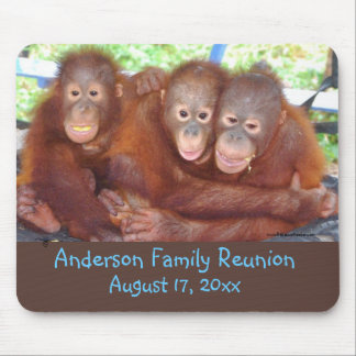Funny Family Reunion Mouse Pad