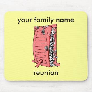 funny family reunion mousepad