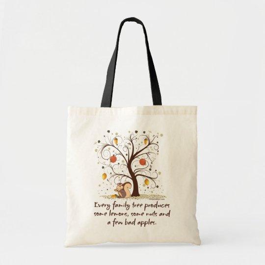 Funny Family Tree Tote Bag