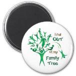 Funny FamilyTree Fridge Magnets