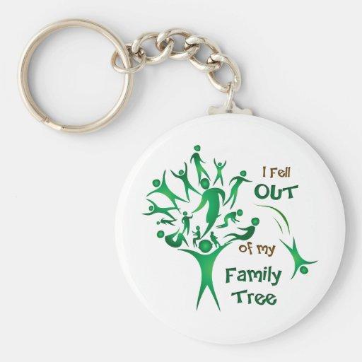 Funny FamilyTree Keychain