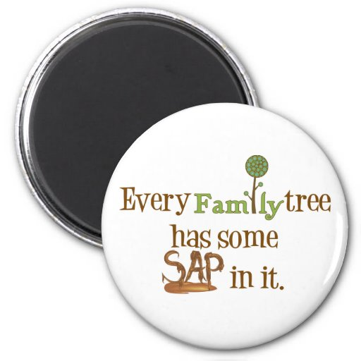 Funny FamilyTree Magnet