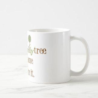 Funny FamilyTree Classic White Coffee Mug