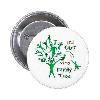 Funny FamilyTree Pinback Button