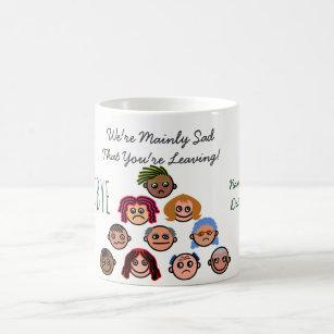e67e78a4f6ca FUNNY Farewell Colleague BOSS - Most of Us are SAD Coffee Mug